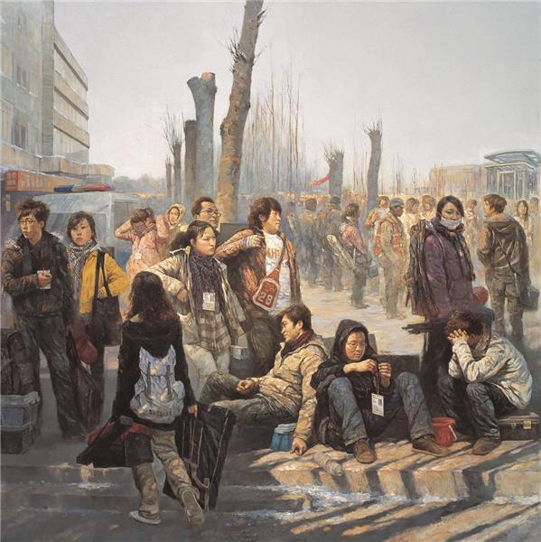 获河南省第十一届美展一等奖《远春》